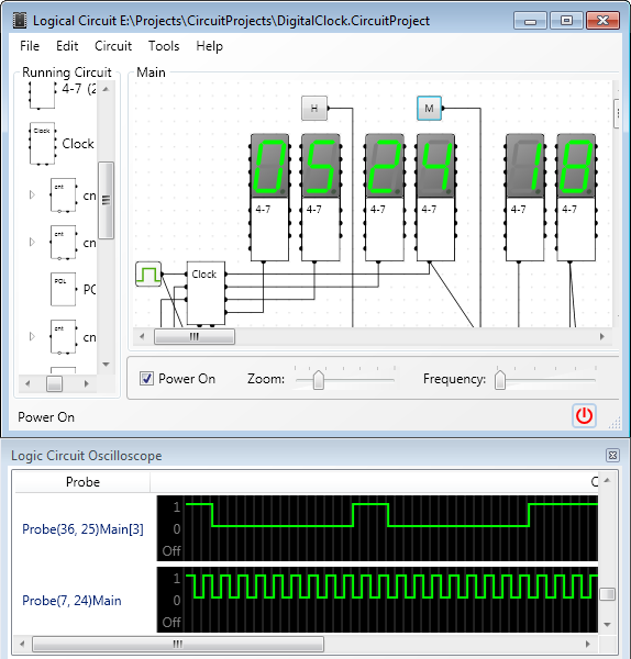 Circuit Logic Simulator - WIRE Data •
